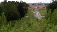 Wrest Park  - Aerial View - England, United Kingdom video