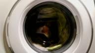 Wringing process in washing machine, power blackout, breakage video