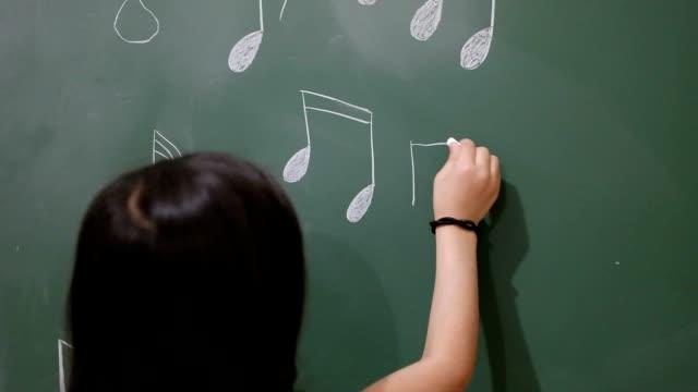 write notes on blackboard video