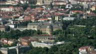 Wurzburg Residence  - Aerial View - Bavaria,  Lower Franconia,  Kreisfreie Stadt Würzburg helicopter filming,  aerial video,  cineflex,  establishing shot,  Germany video