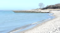 Wustrow Baltic Sea beach Darss peninsulas video