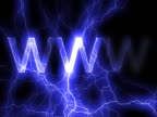 NTSC: 'www' in lightning video
