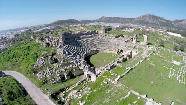 Xanthos-Aerial video video