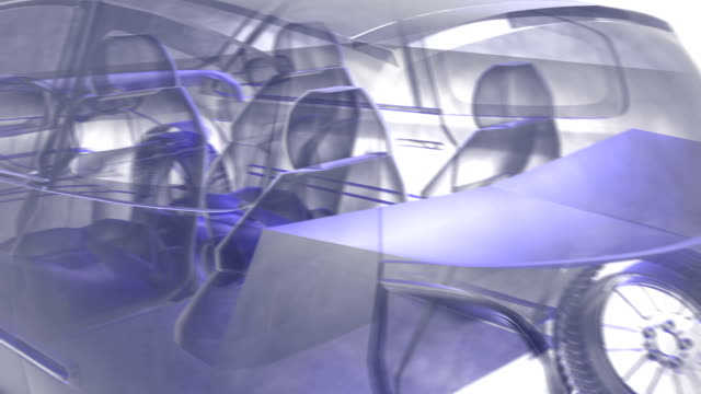 Xray car inside outside video