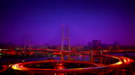 Xu Pu bridge in Shanghai. video