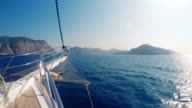 yacht cruising mediterranean costs (boat point of view) video