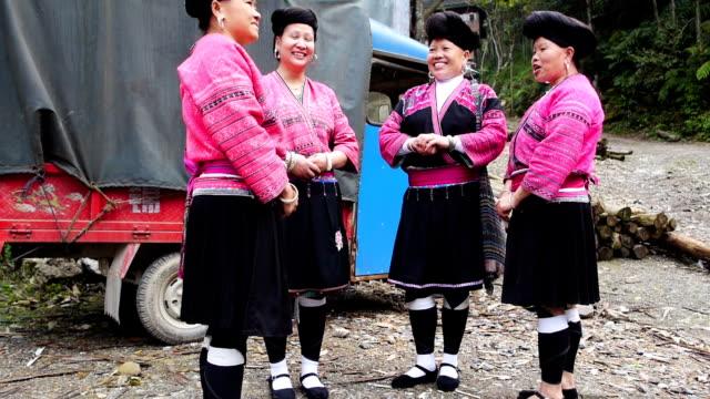 Yao woman chatting video