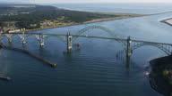 Yaquina Bay Bridge, Newport, Oregon video