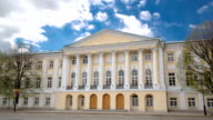 Yaroslavl, Russia: Provincial government offices of Regional Duma timelapse hyperlapse video