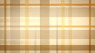 yellow brown checked fabric loopable background video
