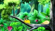 Yellow Caterpillar UHD video