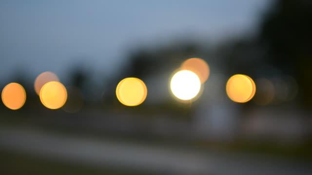 Yellow circle light video