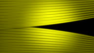 Yellow Curtains (portrait format) Opening and Closing (with alpha channel) video
