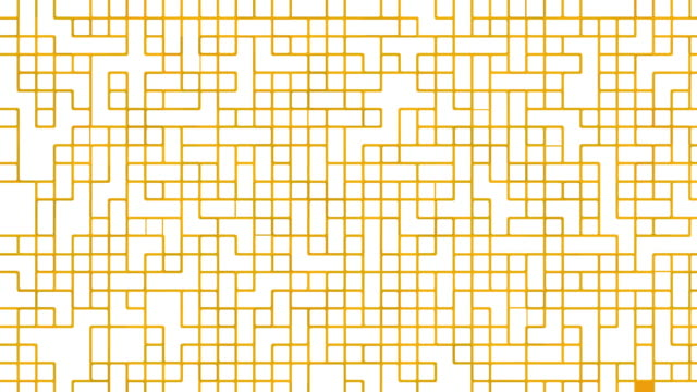 Yellow digital pattern video