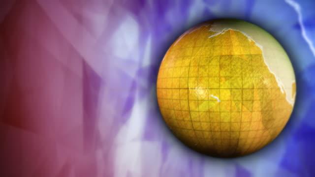 Yellow globe video