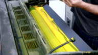 Yellow Ink Duct... video