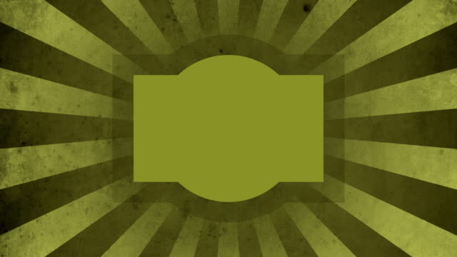 Yellow Label Vintage Loop Background 4K video