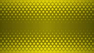 Yellow Repeating Square Pattern Design Background. video