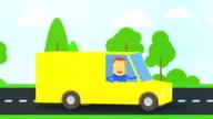 yellow track video
