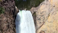 Yellowstone Lower Falls video