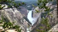 Yellowstone Waterfall video