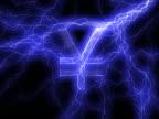 PAL: Yen sign in lightning video