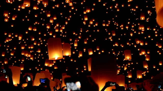 Yi Peng Festival video