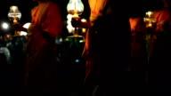 Yii Peng Monks Walking video