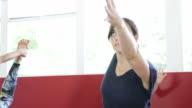 Yoga Class, Someone Falls video