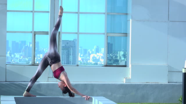 Yoga On Building video