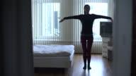 Yoga tree pose video