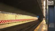 York Street subway station video