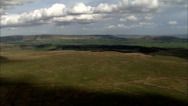 Yorkshire Dales - Aerial View - England, North Yorkshire, Harrogate District, United Kingdom video