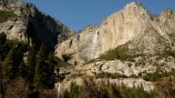 Yosemite Falls. Waterfall in Yosemite National Park video