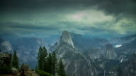 Yosemite Valley Storm - Time Lapse video