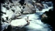 Yosemite Waters 1950's video