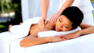 Young Asian Female Client at Luxury Health Spa video