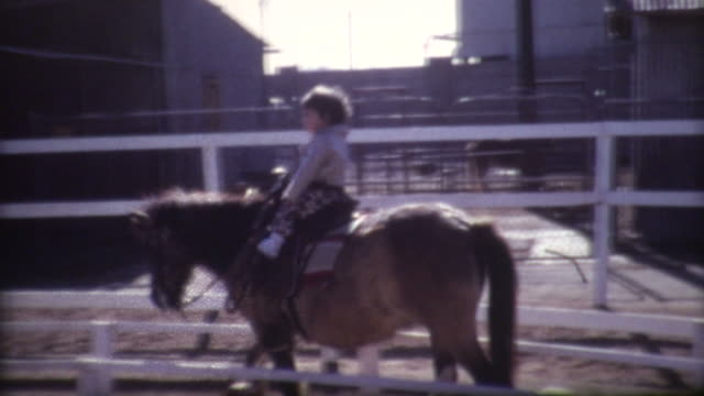 Young Boy Pony 1972 video