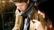 Young Businesspeople outdoors video