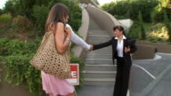 STEADYCAM: Young Couple Going To Open House video