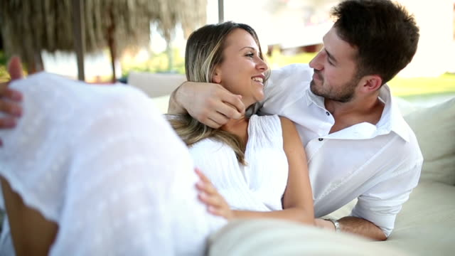 Young Couple In Love video