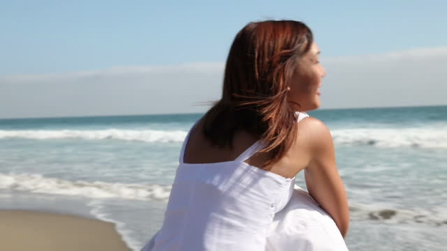 Young Couple On Beach video