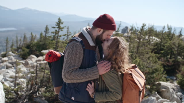 Young Couple on Romantic Adventure video