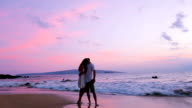 Young Couple On the Beach video