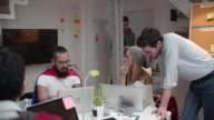 4K: Young Developers Working From Home Office. video