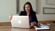 Young entrepreneur woman video