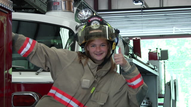 Young Fire Fighter video