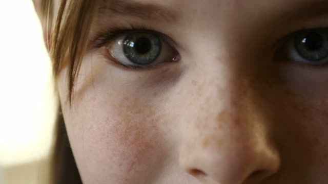 Young Girl Eyes video
