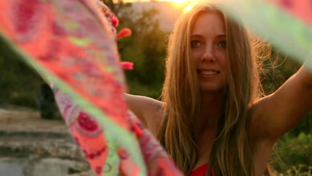 Young Happy Woman video