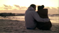 Young love by the ocean video